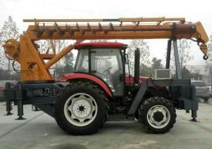 拖拉机吊车的安全装置