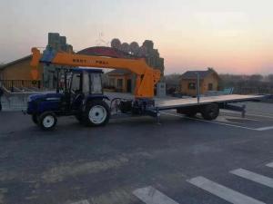 拖拉机牵引吊转盘出现摆动调整方法