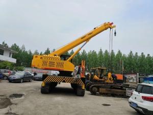 小型履带吊,拖拉机随车吊等小吊车燃料高耗原因分析