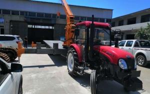 牵引式拖拉机吊